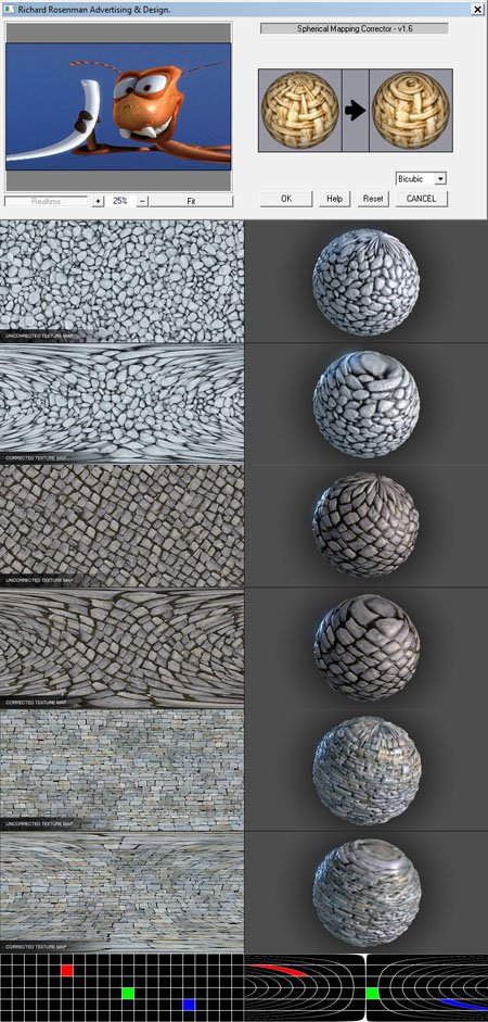 Spherical Mapping Corrector 1.6 Plugin for Photoshop