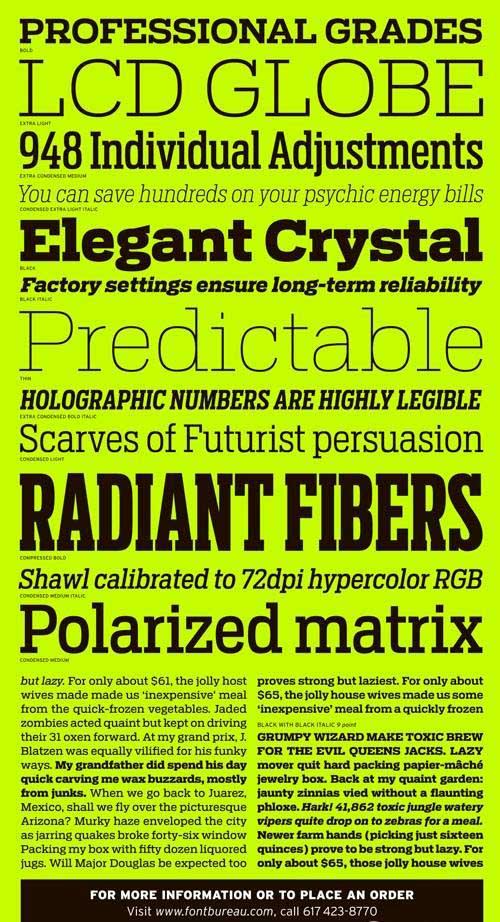 Font - Antenna Serif