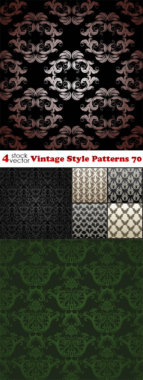 Vectors - Vintage Style Patterns 70