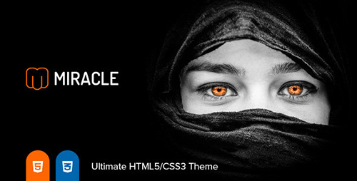 ThemeForest - Miracle v1.1.2 - Responsive Multi-Purpose HTML5 Template - 9948701