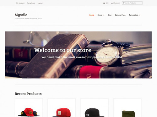 WooThemes - Mystile v1.3.11 - WordPress Theme