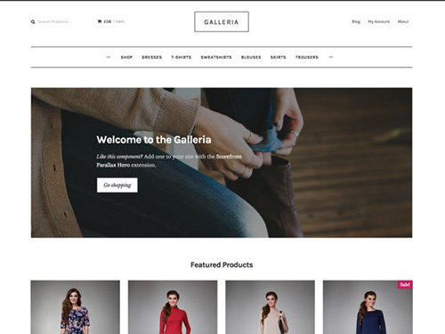 WooThemes - Galleria v2.0.0 - WordPress Theme