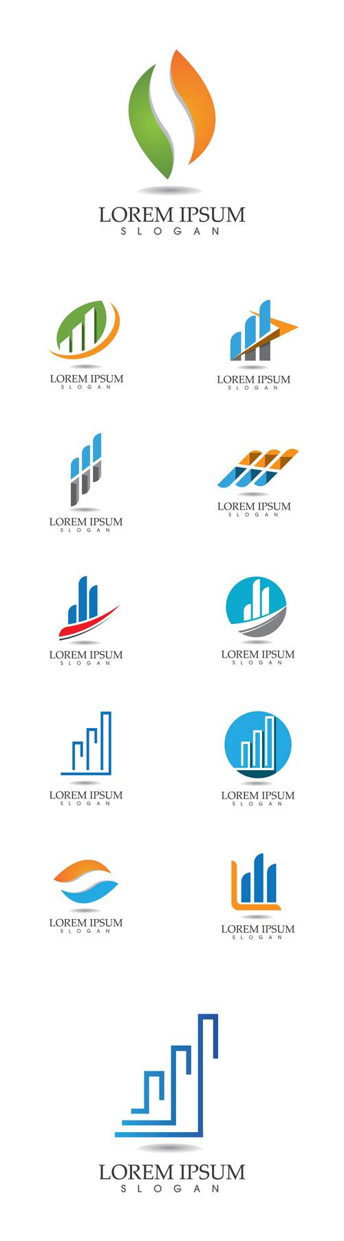 Vector 12 Finance Logos