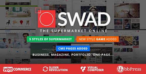 ThemeForest - Responsive Supermarket Online Theme - Oswad v1.2.3 - 9001623