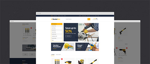 KulerThemes - Structure v1.0.0 - Business Construction OpenCart Theme