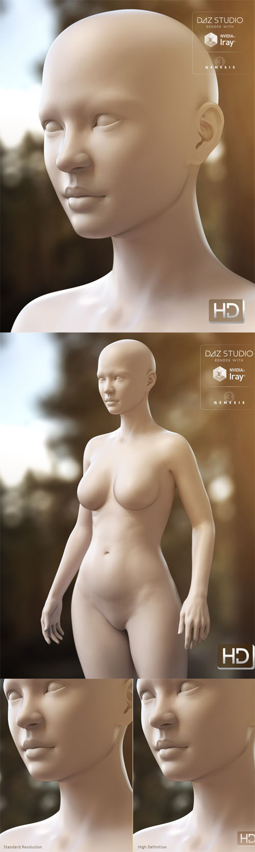 DAZ3D Kalea 7 HD Add-On