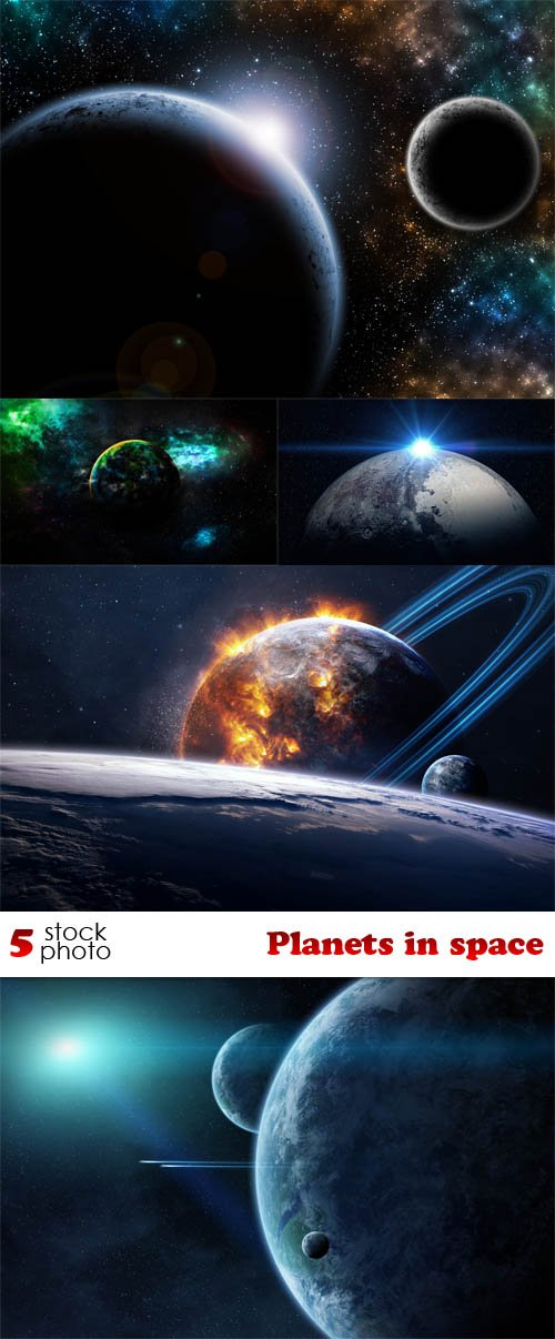 Photos - Planets in space
