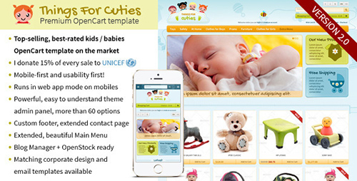 ThemeForest - ThingsforCuties v2.0.2 - the OpenCart Baby & Kids Template - 4057428