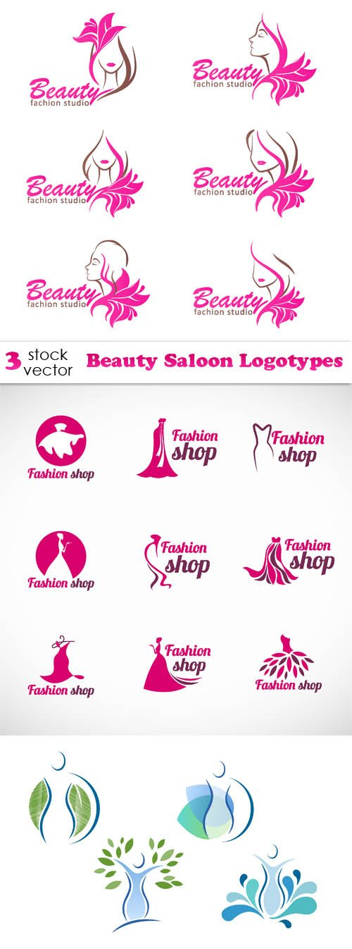 Vectors - Beauty Saloon Logotypes