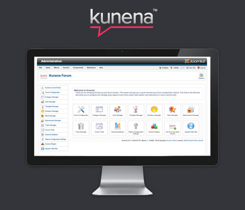 Kunena v4.0.10 - Forum Extension For Joomla 3.x