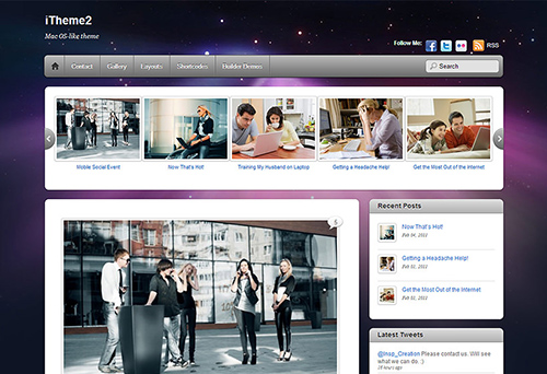 Themify - iTheme2 v1.9.2 - WordPress Theme