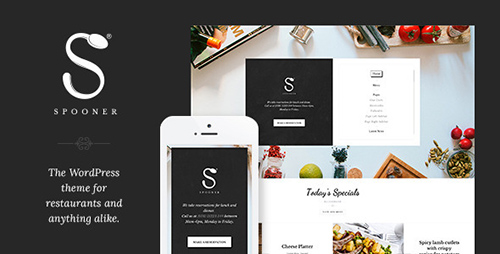 ThemeForest - Spooner v1.3 - Restaurant Bar WordPress Theme - 9497255