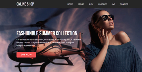 ThemeForest - Online Shop v1.0 - eCommerce Muse Template - 8784706