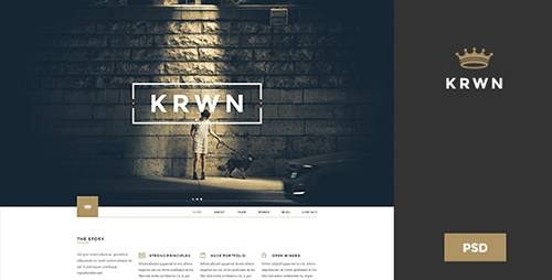 ThemeForest - Krwn - Creative and Business PSD Theme (Update: 28 November 14) - 9488854