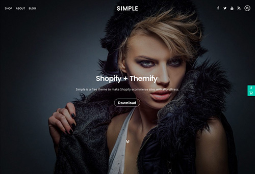 Themify - Simple v1.0.8 - WordPress Theme