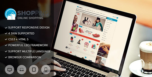 ThemeForest - Leo Shopping v1.6.1.1 - Prestashop Theme - 8058347
