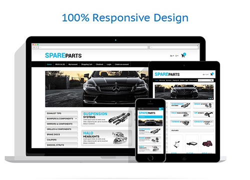 Auto Store - OpenCart 1.5.6.4 Template - TM 49310