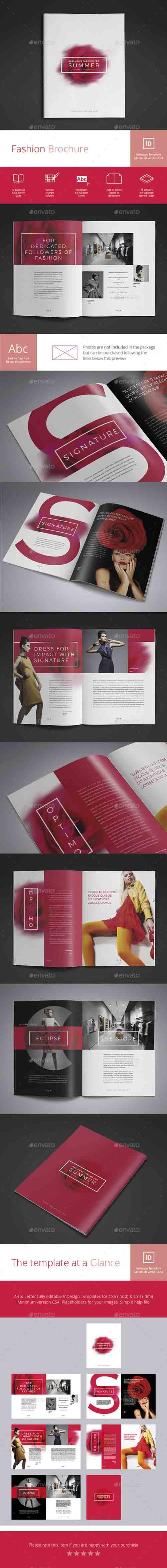 Fashion Brochure 16400219