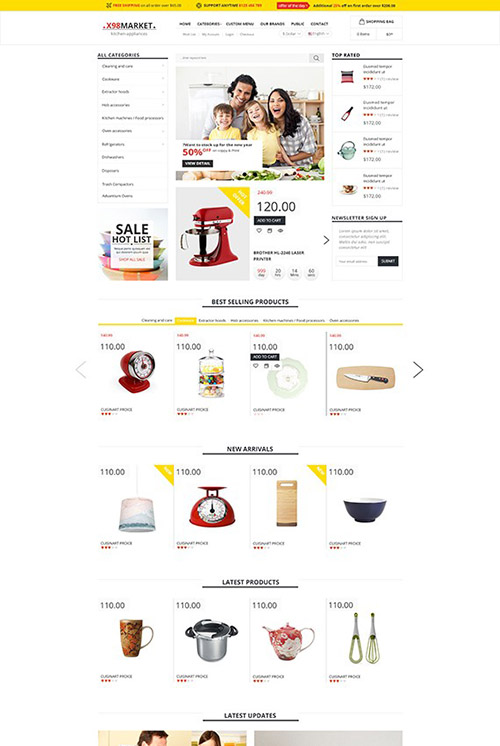PosThemes - X98 v1.0 - Kitchenware Responsive Prestashop Theme