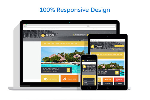 Travel Agency - Responsive OpenCart 2.0.1.1 Template - TM 54745