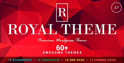ThemeForest - Royal v2.7 - Multi-Purpose Wordpress Theme - 8611976