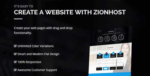 ThemeForest - ZionHost v3.3 - Web Hosting, WHMCS and Corporate Business WordPress Theme - 14757621