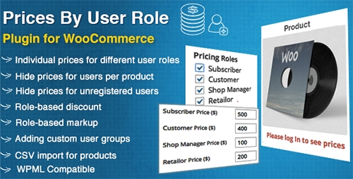 CodeCanyon - WooCommerce Prices By User Role v2.5.1 - 8562616