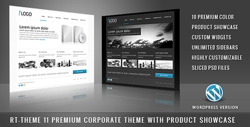 ThemeForest - RT-Theme 11 v1.4.2 - Business Theme 10 in 1 For WordPress - 124995