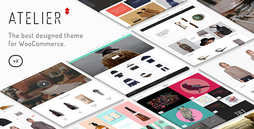 ThemeForest - Atelier v2.1.51 - Creative Multi-Purpose eCommerce Theme - 11118909