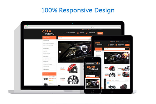 Car Tuning OpenCart Template - TM 55728
