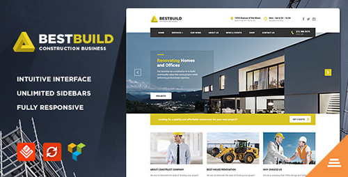 ThemeForest - BestBuild v2.6 - Construction & Building WP Theme - 11424772