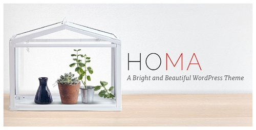 ThemeForest - Homa v1.6.1 - A Bright and Beautiful WordPress Theme - 11438572