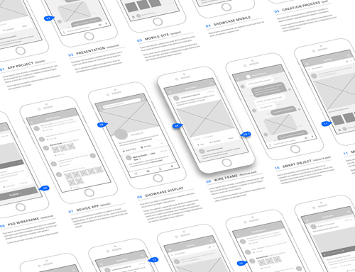 wireframe app mockup vol 3 nitrogfx download unique graphics for creative designers. Black Bedroom Furniture Sets. Home Design Ideas