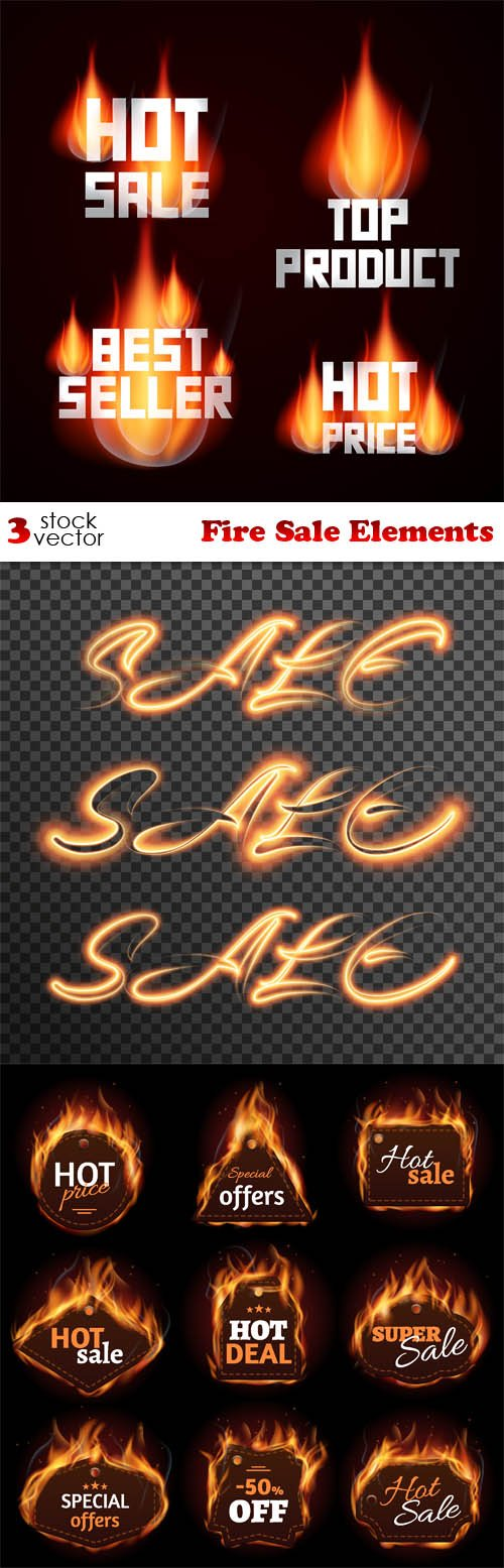 Vectors - Fire Sale Elements
