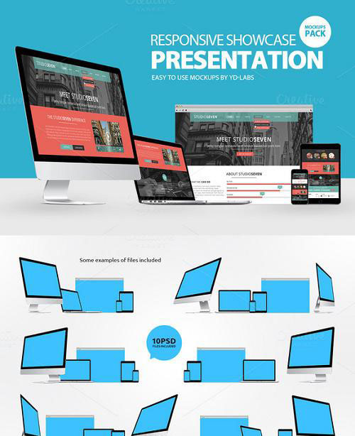 Responsive Showcase Presentation 776600