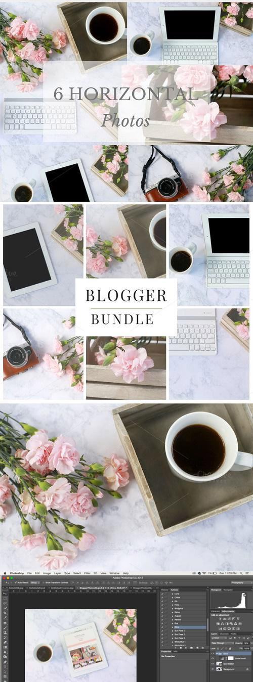 Pretty Photo Bundle for Bloggers - 846909