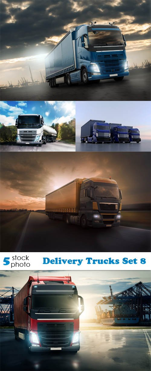 Photos - Delivery Trucks Set 8