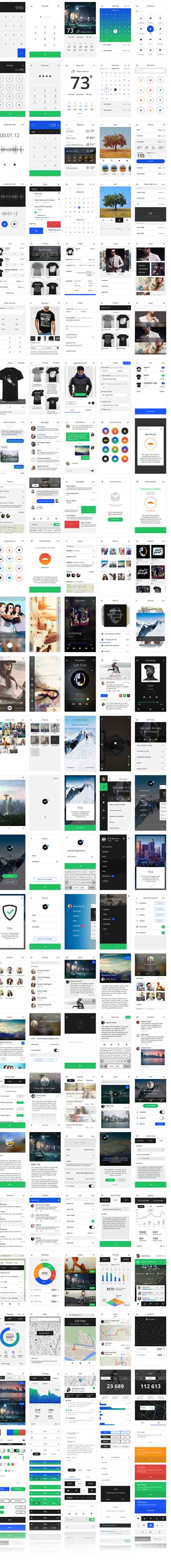 Tethr - iOS UI Kit