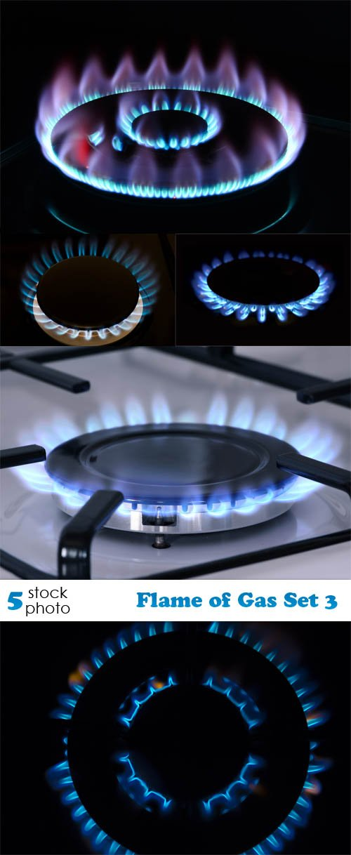 Photos - Flame of Gas Set 3