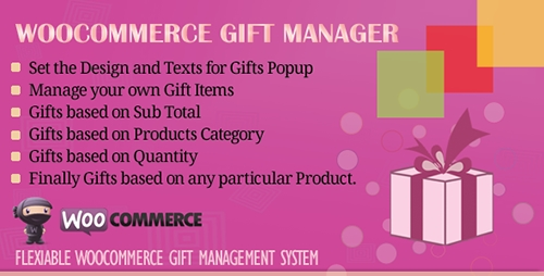 CodeCanyon - WooCommerce Gift Manager v2.1 - 6734275