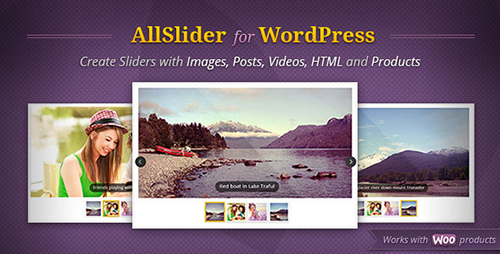 CodeCanyon - AllSlider v1.1.3 - WordPress Mobile & Responsive Slider Carousel - 3745375