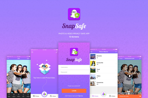 SnapSafe - Photo & Video Privacy Safe App
