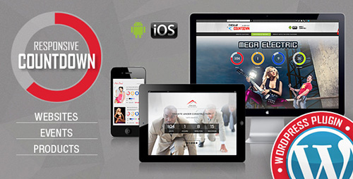 ThemeForest - CountDown Pro WP Plugin v1.3 - WebSites/Products/Offers - 6305309