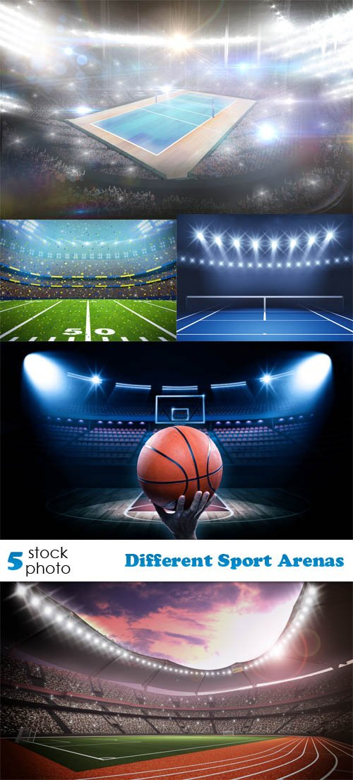 Photos - Different Sport Arenas