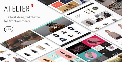 ThemeForest - Atelier v2.4.13 - Creative Multi-Purpose eCommerce Theme - 11118909