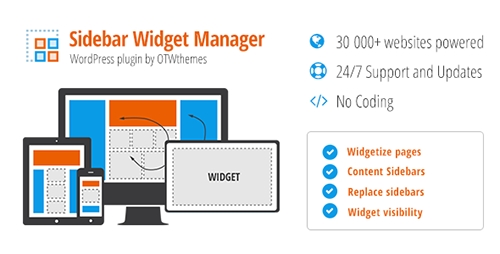 CodeCanyon - Sidebar & Widget Manager for WordPress v3.21 - 2287447