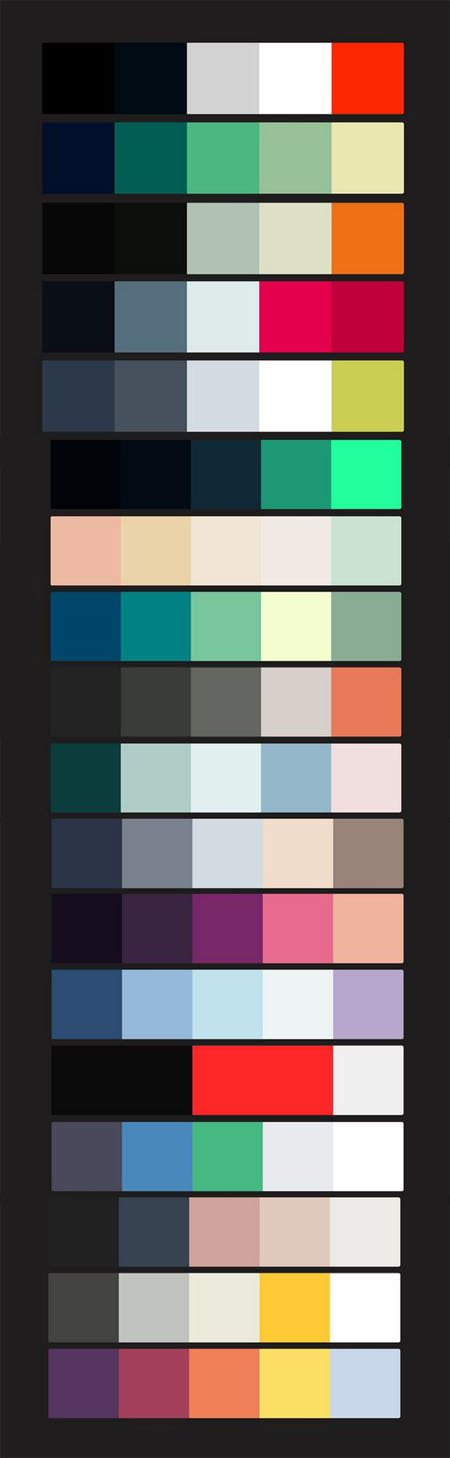 Best Color Schemes for Designers - Part 01