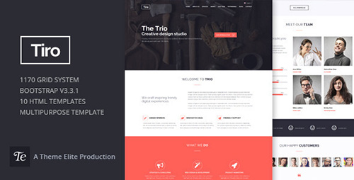 ThemeForest - Trio v1.1 - Bootstrap Responsive Multipurpose Template - 11176141