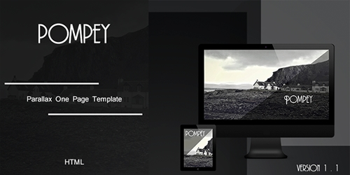 ThemeForest - Pompey v1.1 - Parallax One Page HTML Template - 6828815