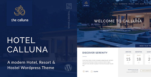 ThemeForest - Hotel Calluna v2.4.2 - Hotel & Resort & WordPress Theme - 12996510